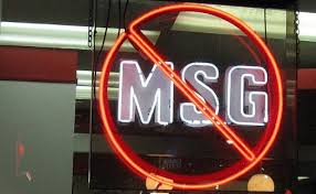 MSG? Not in our house!