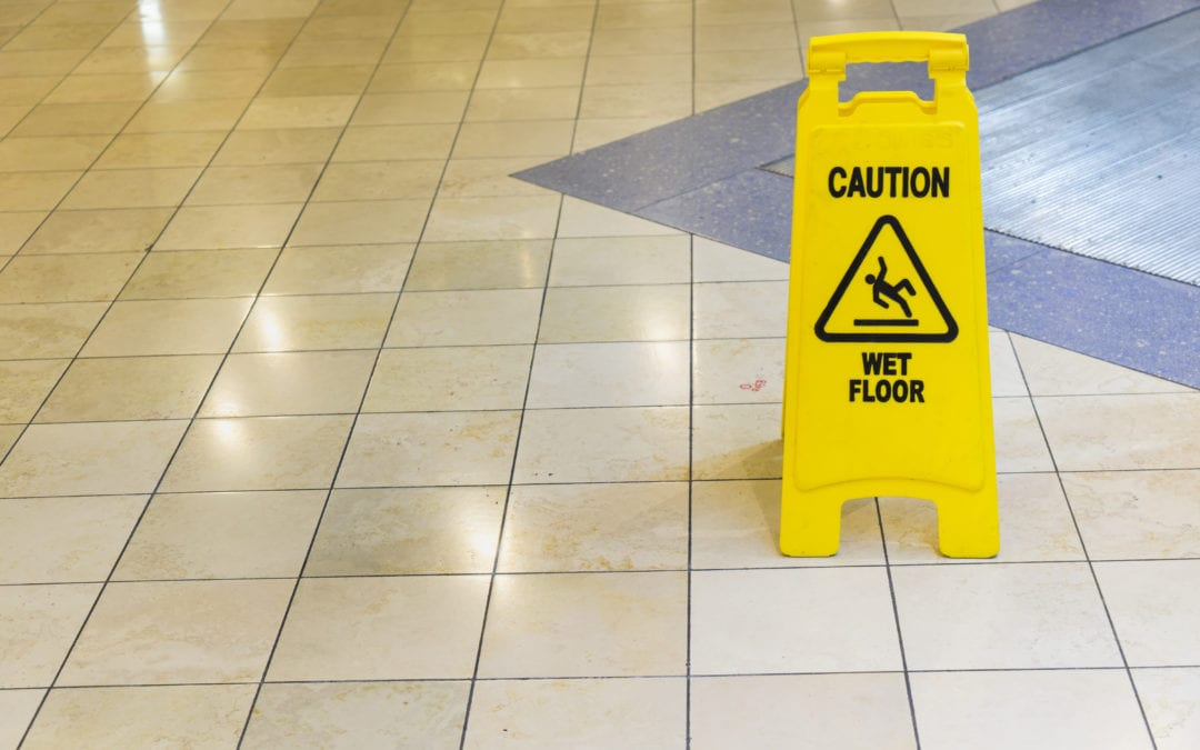 Prevent Slips and Falls in Office Buildings