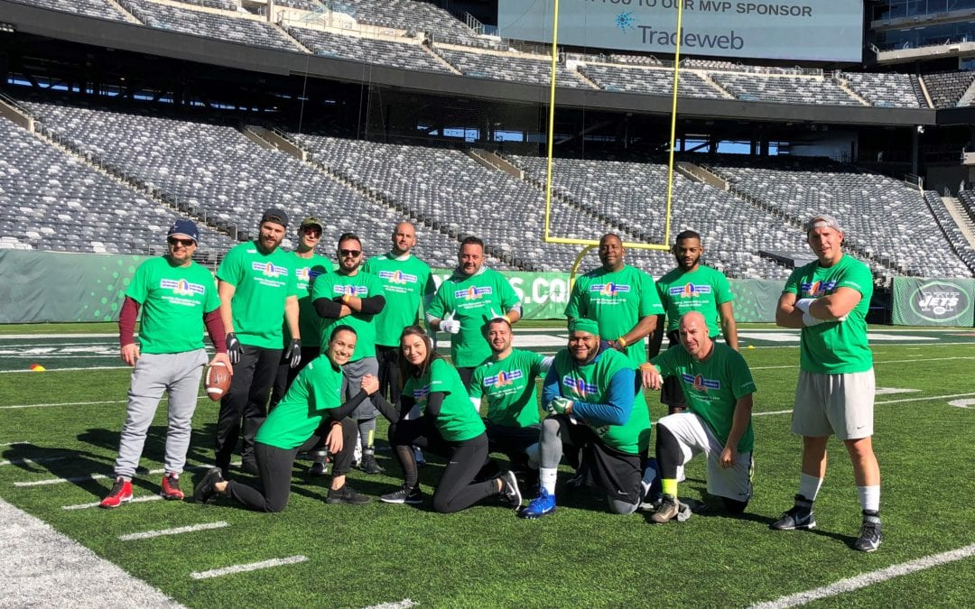 Crohn's and Colitis Flag Football Charity Event 2018