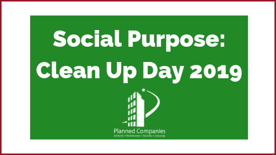 Planned Companies Clean Parks and Beaches for National Clean Up Day