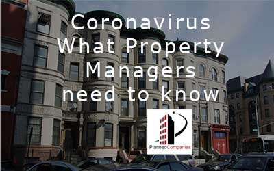 COVID-19 Coronavirus – What Property Managers Need to Know