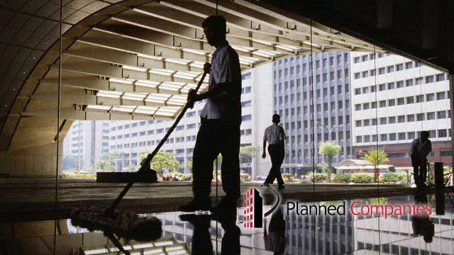 janitorial services Planned Companies